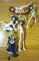 Figure Haul: All The Ladies by justinedarkchylde