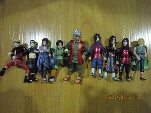Naruto Gashapon set 2