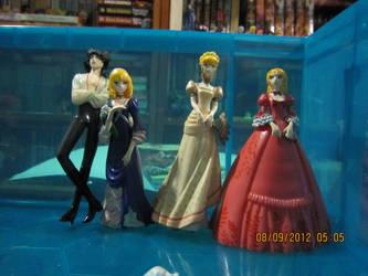 Rose of Versailles Gashapons Part 2 by justinedarkchylde