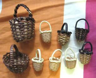 Recent Haul of Baskets by justinedarkchylde