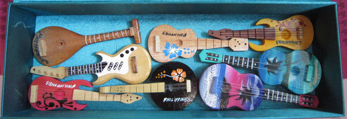 Haul of Musical Instruments