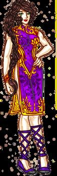Purple Version by justinedarkchylde