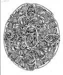 Oval Pointillism 001