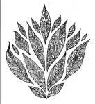 Leaves Pointillism 005
