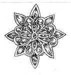 Flower pointillism 006