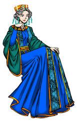 Byzantine Commission for Widow