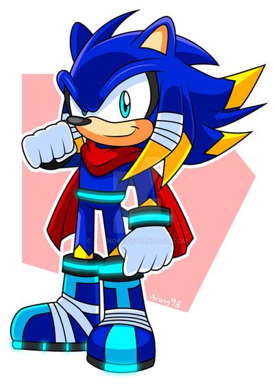 Sonic Boom Jolt The Hedgehog By Arung98 On Deviantart