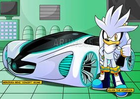 The Silver car