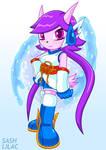 Freedom Planet 2 - Sash Lilac