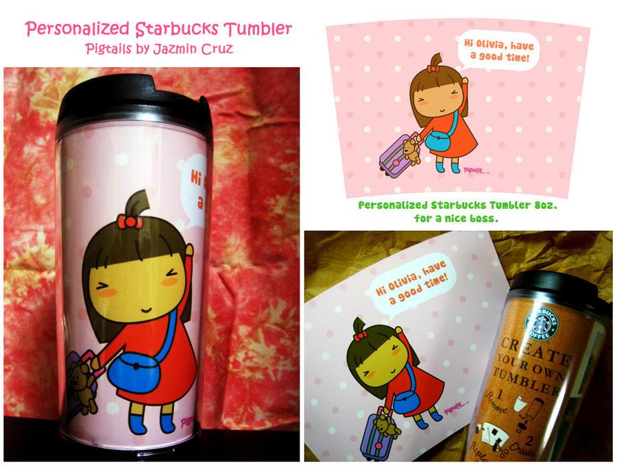 starbucks personalized tumbler template - personalized starbucks tumbler by jazgirl on deviantart