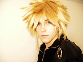 Cloud Strife: Ex SOLDIER by TheManOfManyFaces