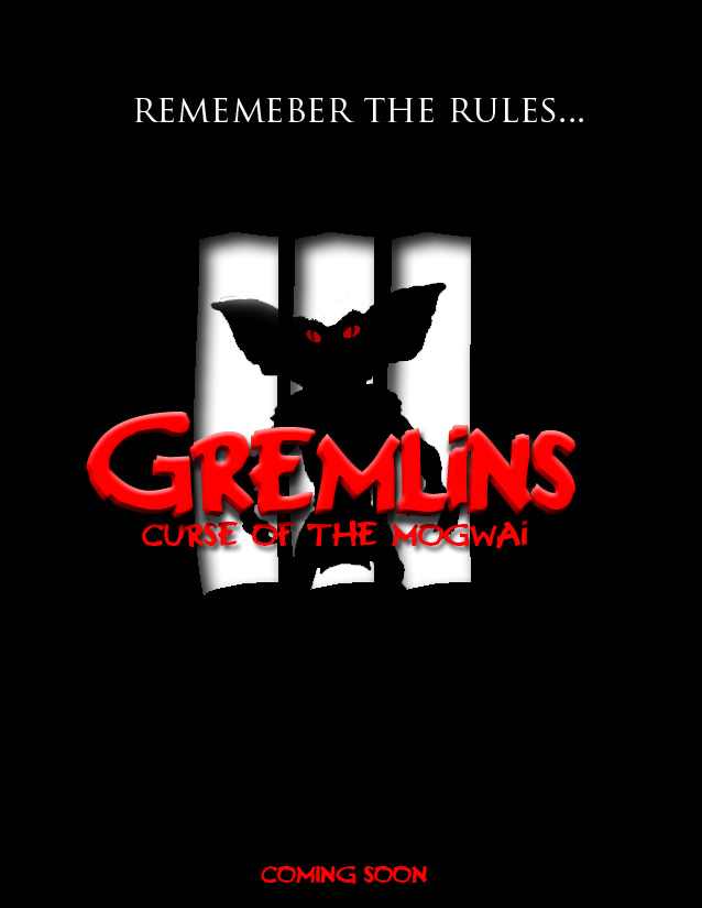 Gremlins 3 Teaser Poster by darthy13