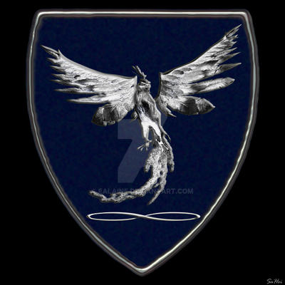 Emblem Kymor - Silver Phoenix by Ealaine