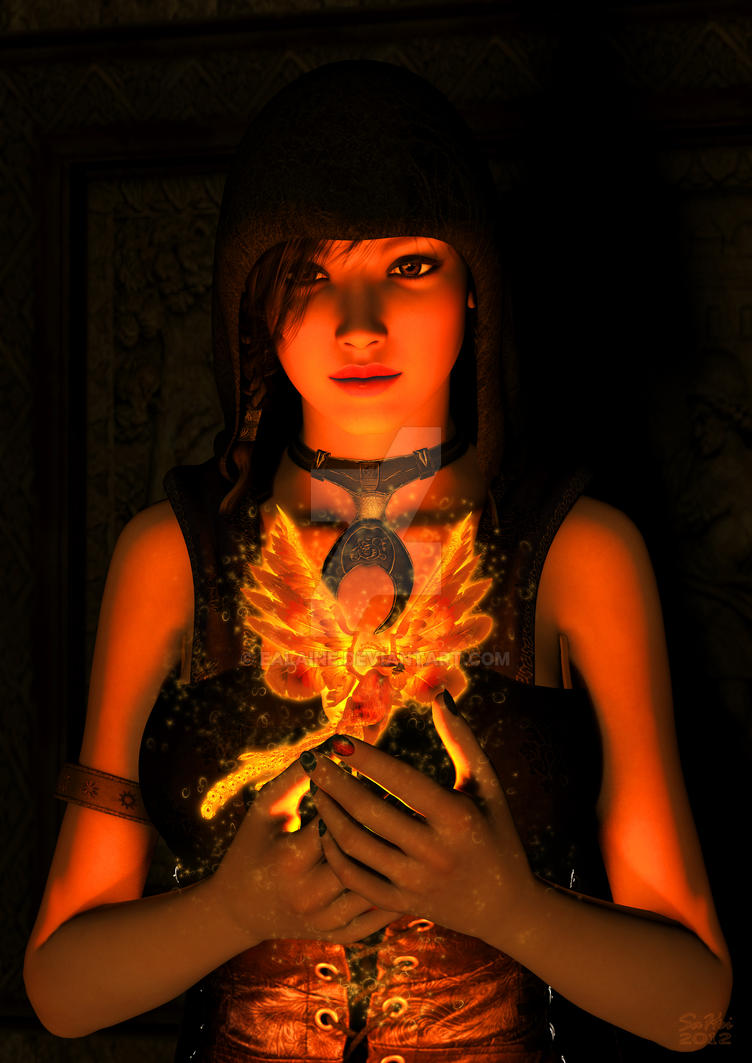 Phoenix Maiden by Ealaine