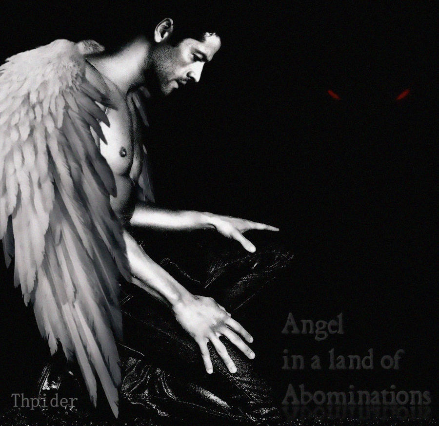 Castiel - Angel In A Land Of Abominations by DanglingThpider