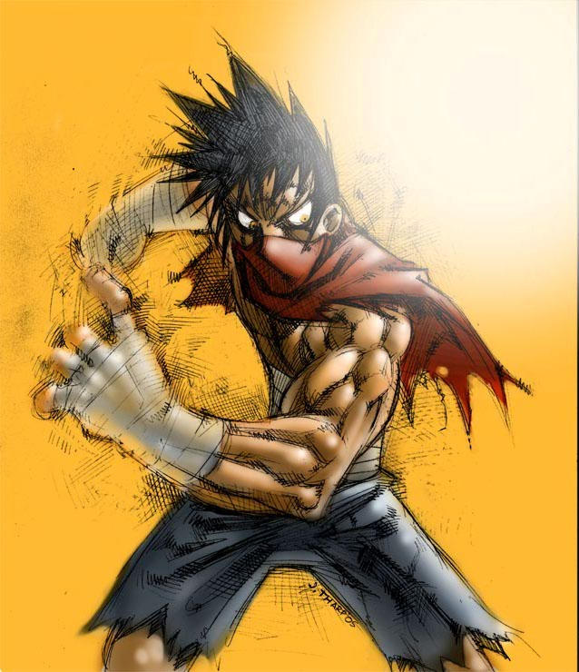 A Ninja by Majingaji