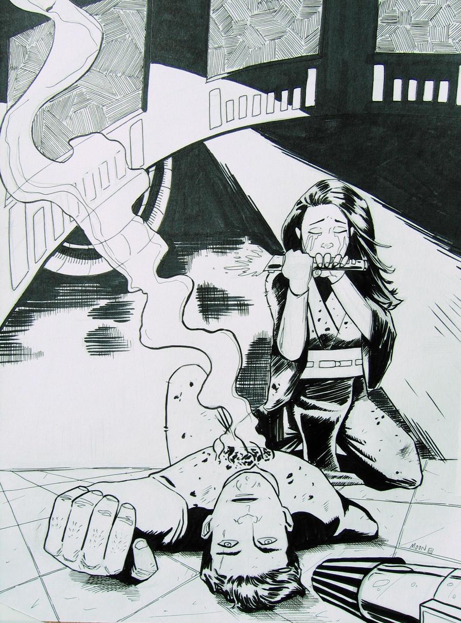 The Death of Darth Caedus by jediboy