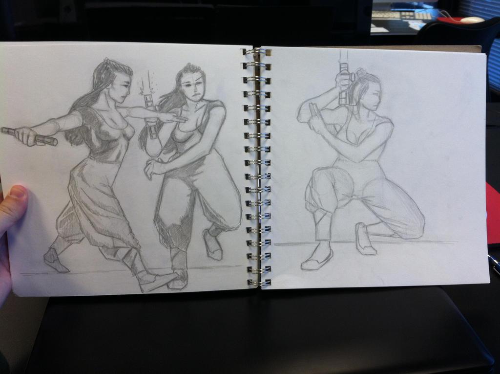 Shaolin Jedi style by jediboy