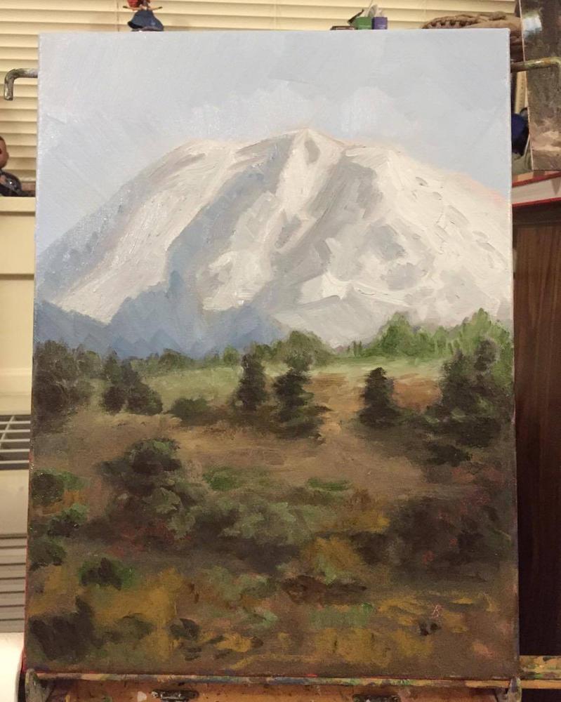 Mt Rainier by jediboy