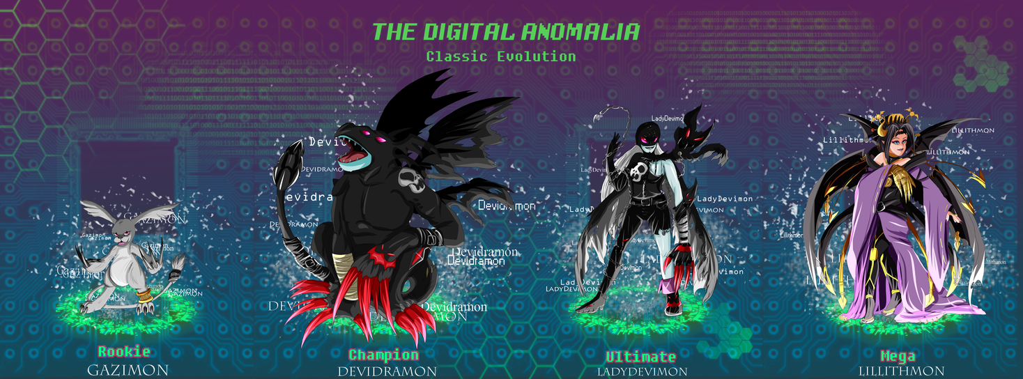 tda classic evolution gazimon by douji mayamiko on