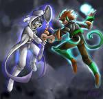 Epic Battle : Mewtwo vs Deoxys