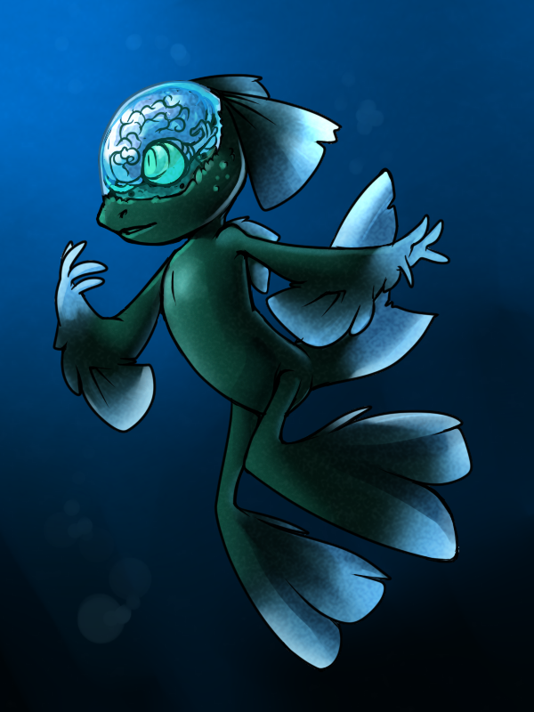 SotW - Juno the Barreleye Fish by nyausi