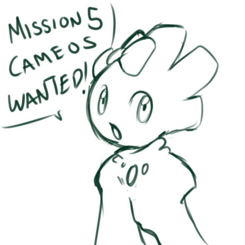 Mission 5 CAMEOS WANTED by nyausi