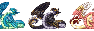 Snake Dragon Adopts AUCTION (2/3 OPEN)