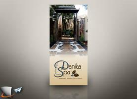 Brochure for Danika Spa by Infoworks