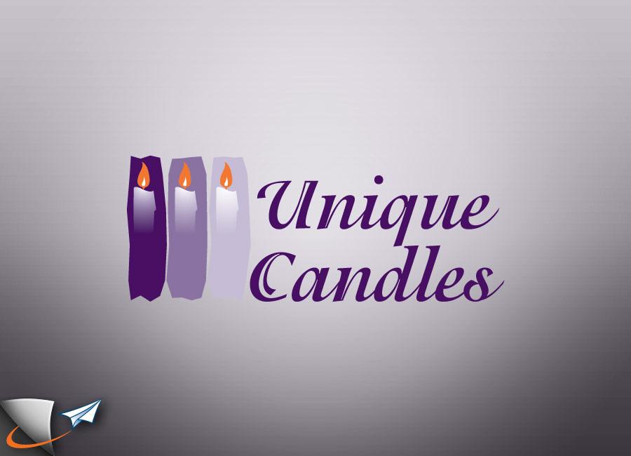 Unique Candles logo