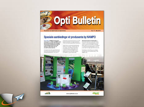 Opti Feeds quarterly magazine