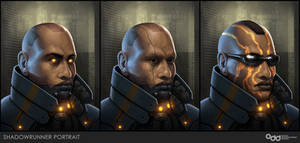 Shadowrunner Portraits