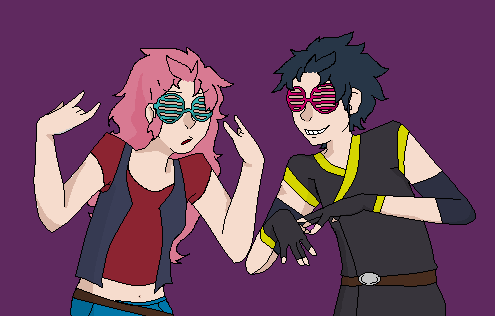 Swag Dragon Twins by kcsss101