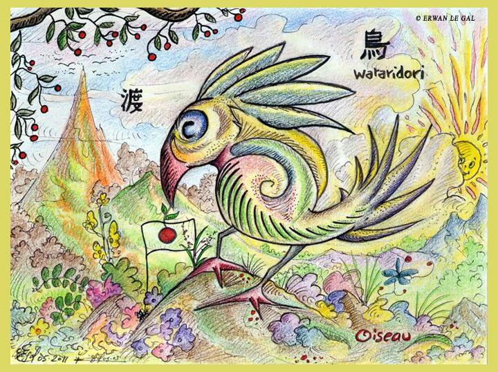 Birds Wataridori by ERWANLEGAL