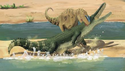Cretaceous analogy by PlatinumYuty