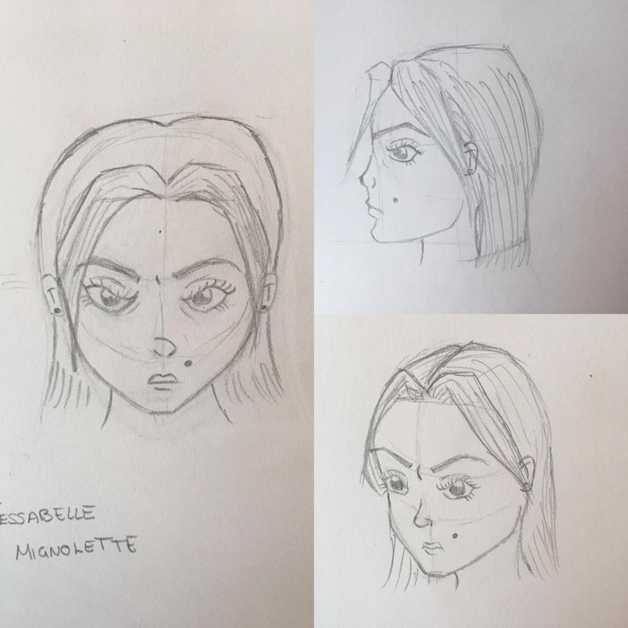 Jessabelle Mignolette Character Development by samuraijat