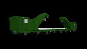 The Breakdown Train Model Render