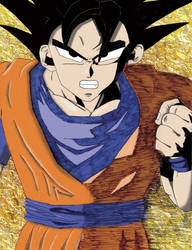 Goku ver 2 - Colored