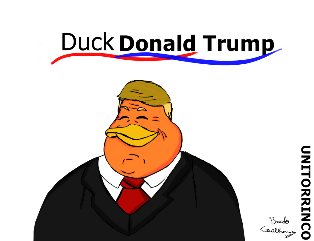 Duck Donald Trump by BardoGuilherme