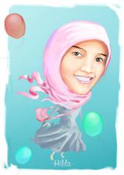 Karikatur Hilda