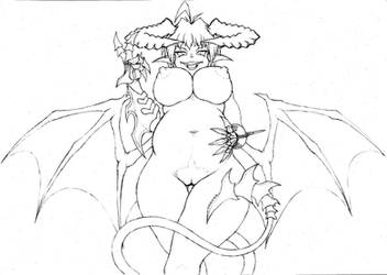 Demoness by number551