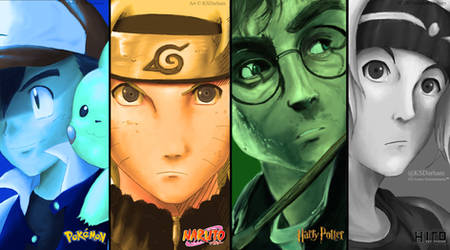 My Four (or Five) Main Inspirations! by GZ-Iconic-Ent