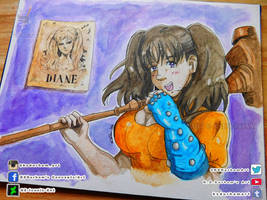 Diane (The Seven Deadly Sins) by GZ-Iconic-Ent