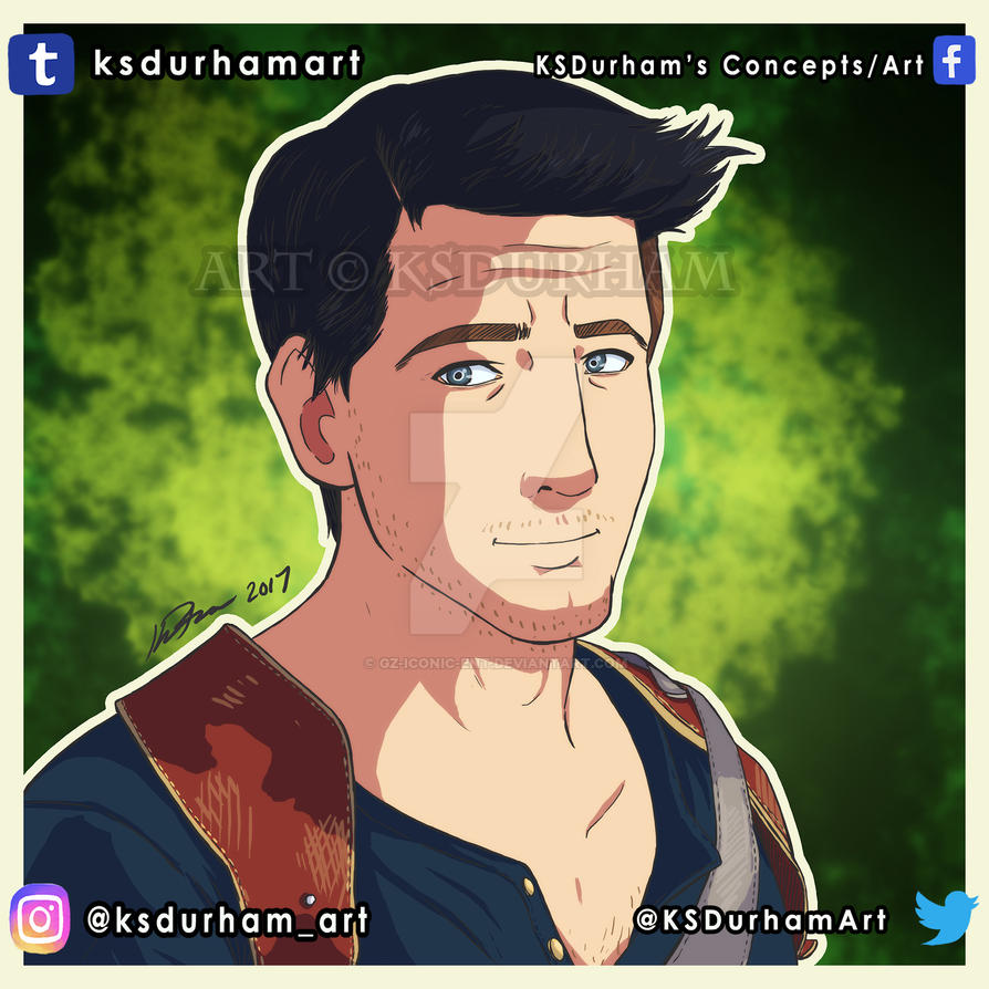 MCM #4 Nathan Drake by GZ-Iconic-Ent