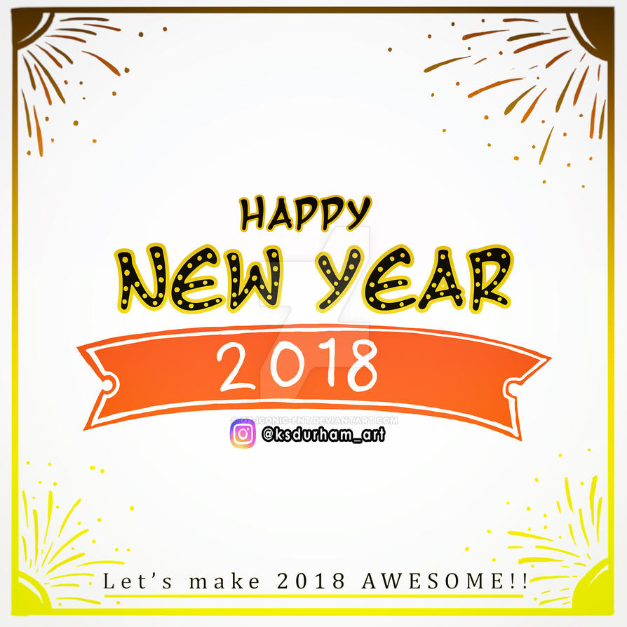 New Year's 2018 by GZ-Iconic-Ent