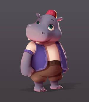 Spyro 2 - Shorty the Hippo