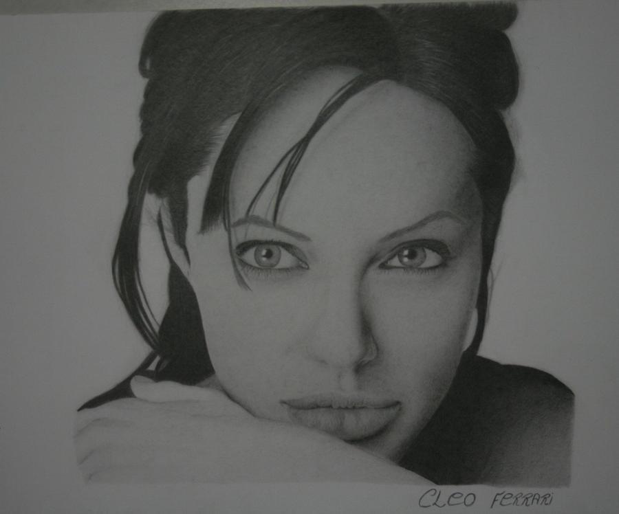 Angelina Jolie by CleoFerrari