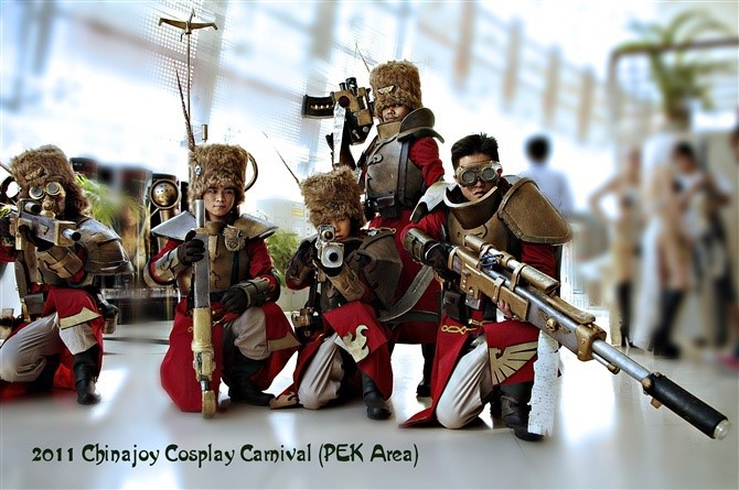 Vostroyan Scions: 40k Cosplay In China