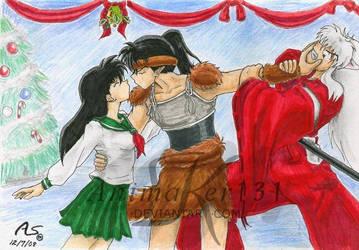 Mistletoe Rivalry by Animaker131