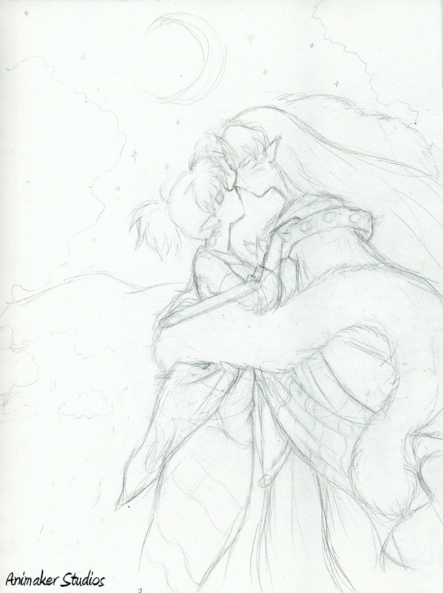 Sesshomaru And Kagura By Animaker131